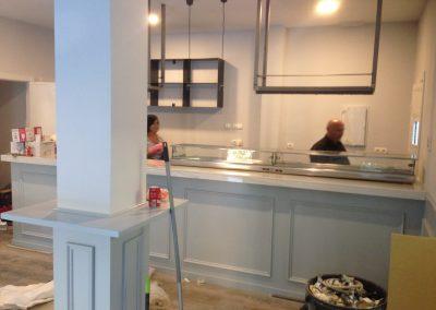Reforma de Cafetería Obra fase 2